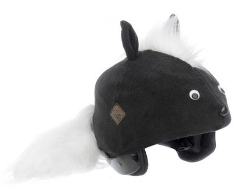 Skunk Helmet Covers - Girls & Boys , Child - Tail Wags Helmet Covers Inc, Tail Wags Helmet Covers  - 1