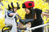 Ladybug Helmet Cover - Girls & Boys , Child - Tail Wags Helmet Covers Inc, Tail Wags Helmet Covers  - 3