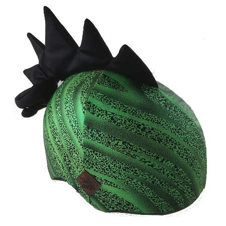 Dinosaur Helmet Cover - Girls, Boys and Adult , One Size - Tail Wags Helmet Covers, Tail Wags Helmet Covers  - 1
