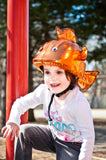 Goldfish Helmet Cover - Girls, Boys & Adult , One Size - Tail Wags Helmet Covers Inc, Tail Wags Helmet Covers  - 4