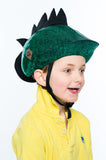 Dinosaur Helmet Cover - Girls, Boys and Adult , One Size - Tail Wags Helmet Covers, Tail Wags Helmet Covers  - 3