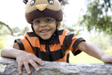 Owl Helmet Cover - Girls & Boys , Child - Tail Wags Helmet Covers Inc, Tail Wags Helmet Covers  - 2