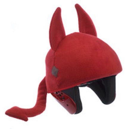 Red Devil Helmet Cover - Adults
