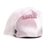 Princess Belle Helmet Cover (Pink Velvet) - Girls & Women , One Size - Tail Wags Helmet Covers Inc, Tail Wags Helmet Covers  - 1