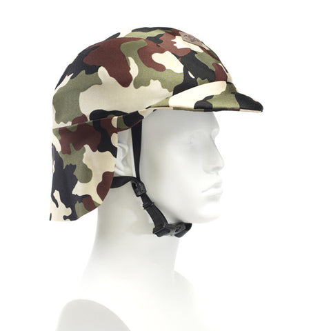 Sun Lidz Helmet Cover - Camouflage , One Size - Tail Wags Helmet Covers, Tail Wags Helmet Covers  - 1