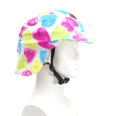 Sun Lidz Helmet Cover - Love is in the Air! , One Size - Tail Wags Helmet Covers, Tail Wags Helmet Covers  - 1