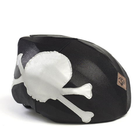 Pirate  Tail Wags Helmet Cover - One Size , One Size - Tail Wags Helmet Covers Inc, Tail Wags Helmet Covers  - 1