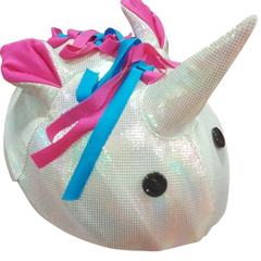 New! Unicorn Helmet Cover