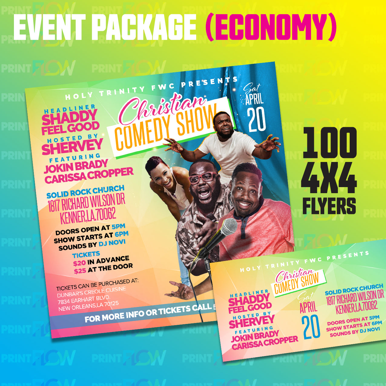 Event Package (Economy)