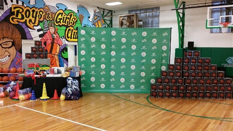 Step & Repeat Backdrop Banner & Stand
