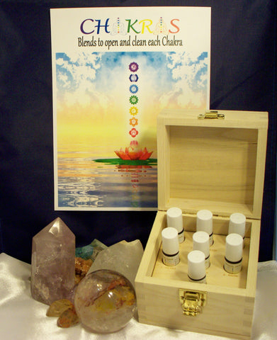 CHAKRA BOX WITH OILS