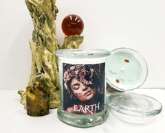 Elemental Candle Earth