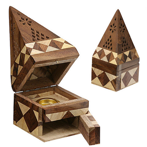 PYRAMID STYLE MULTI WOOD CONE BURNER