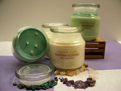 CORD CUTTER CRYSTAL INFUSED SOY CANDLE