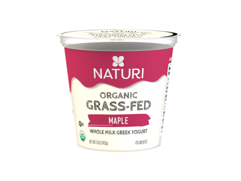 Maple, Whole Milk, Organic Greek Yogurt Case (12 x 5 oz.)