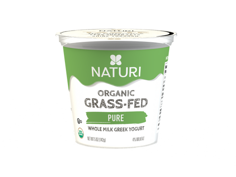 Pure, Whole Milk, Organic Greek Yogurt Case (12 x 5 oz.)