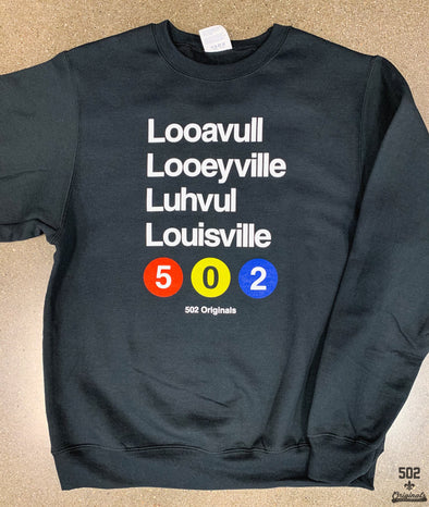 Louisville Subway Sweatshirt
