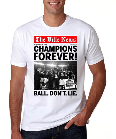Champions Forever Tee (White)