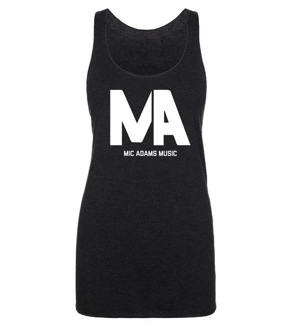 Mic Adams Music Ladies Racerback Tank