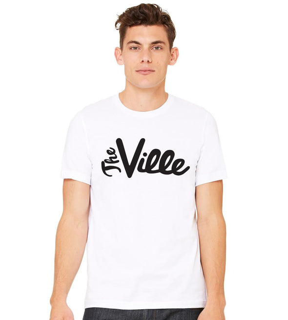 The Ville Tee (Available in Crew Neck and V-Neck)