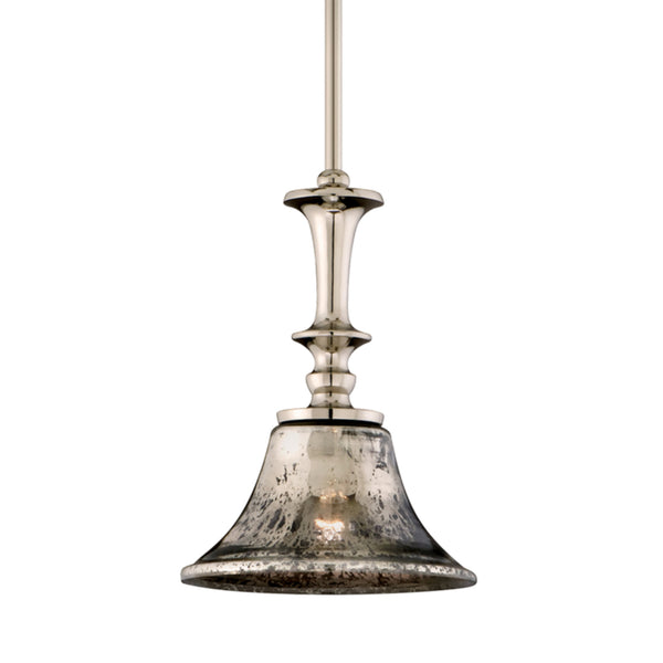 Corbett Lighting 103-41 Argento 1lt Pendant in Cast Aluminum