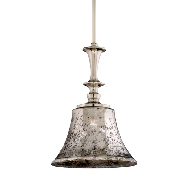 Corbett Lighting 103-42 Argento 1lt Pendant in Cast Aluminum