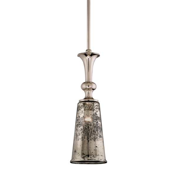 Corbett Lighting 103-43 Argento 1lt Pendant in Cast Aluminum