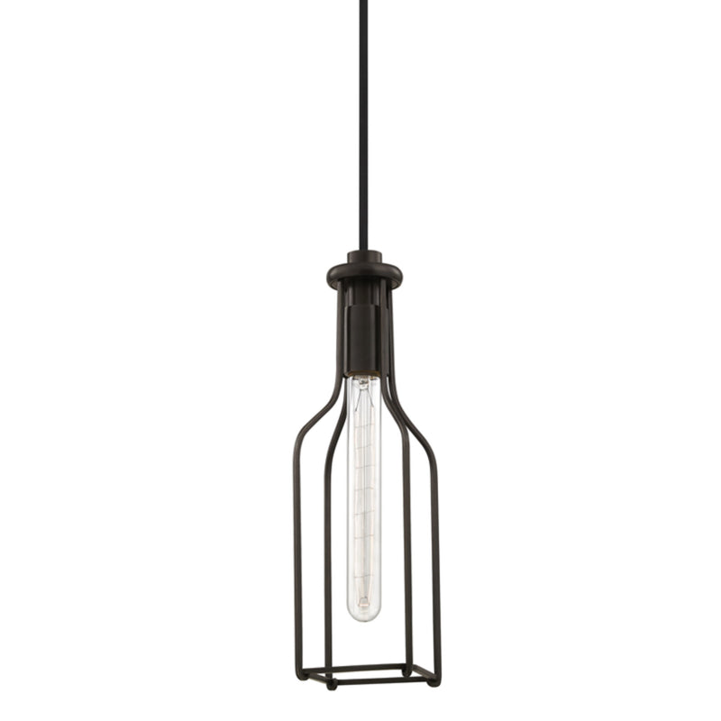 Hudson Valley Lighting 1041-OB Colebrook 1 Light Pendant in Old Bronze