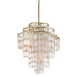 Corbett Lighting 109-412 Dolce 12lt Pendant in Hand-Worked Iron
