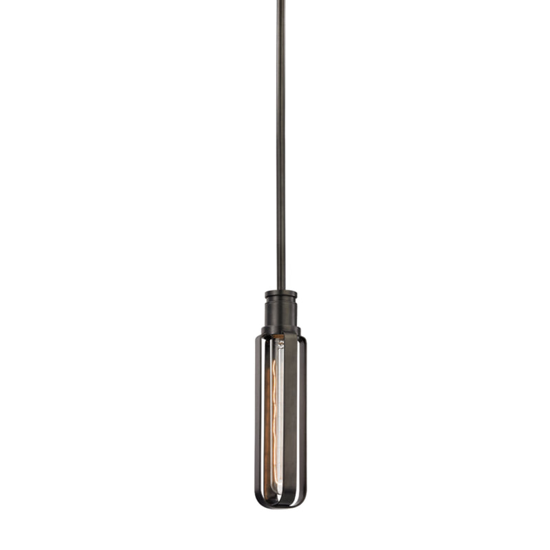 Hudson Valley Lighting 1090-OB Red Hook 1 Light Pendant in Old Bronze