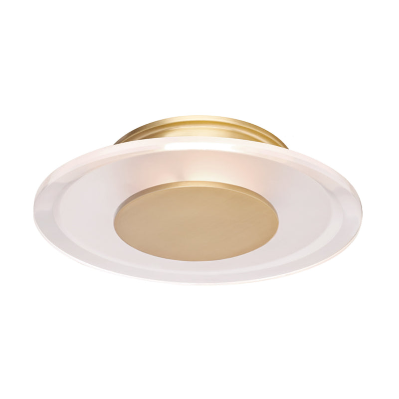 Hudson Valley Lighting 1209-AGB Guthrie Led Wall Sconce in Aged Brass