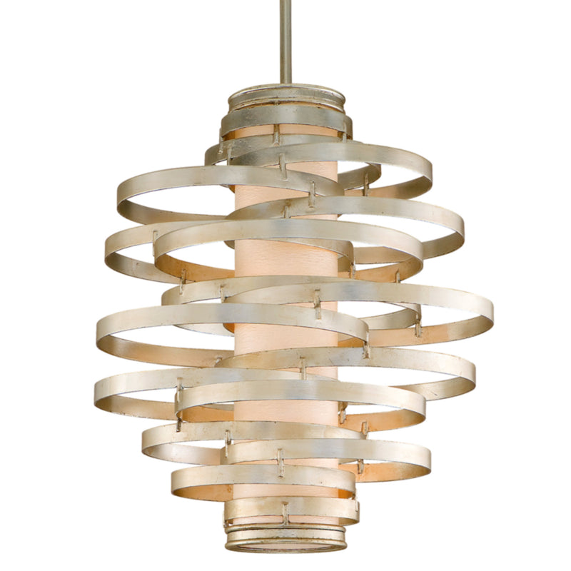 Corbett Lighting 128-43 Vertigo 3lt Pendant Medium in Hand-Worked Iron