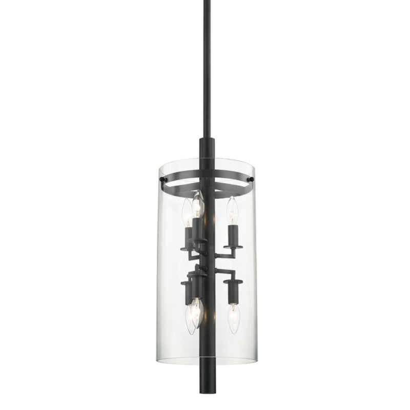 Hudson Valley Lighting 1306-OB Baxter 6 Light Pendant in Old Bronze