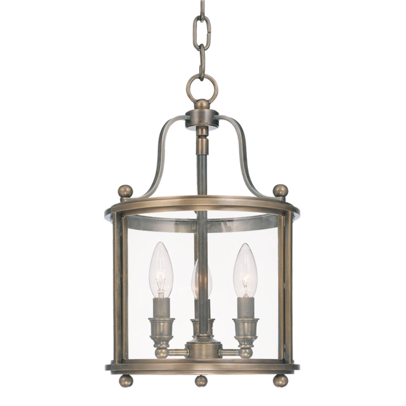 Hudson Valley Lighting 1310-DB Mansfield 3 Light Pendant in Distressed Bronze