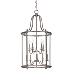 Hudson Valley Lighting 1320-AN Mansfield 10 Light Pendant in Antique Nickel