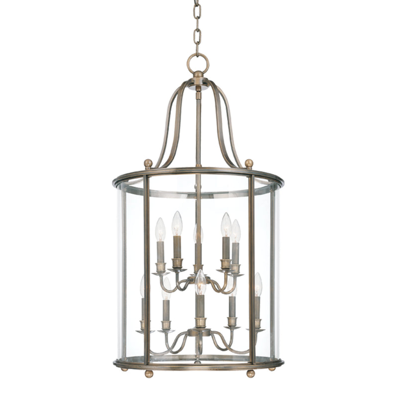Hudson Valley Lighting 1320-DB Mansfield 10 Light Pendant in Distressed Bronze