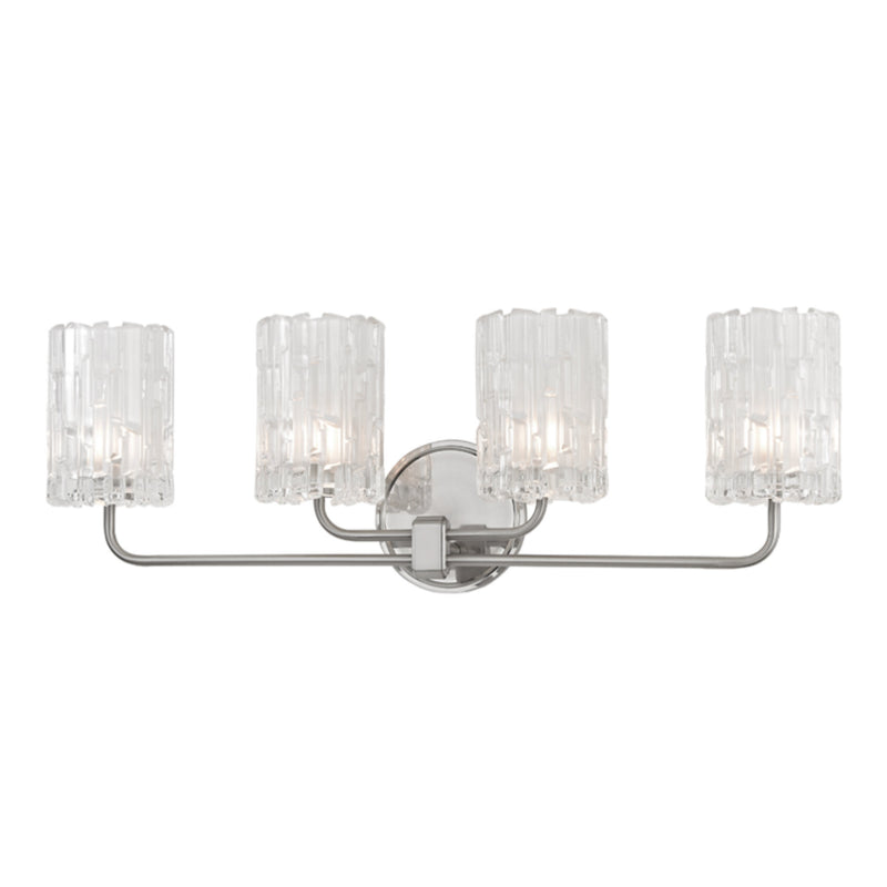 Hudson Valley Lighting 1334-SN Dexter 4 Light Bath Bracket in Satin Nickel