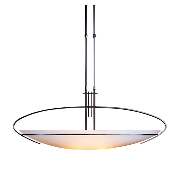 Hubbardton Forge 134328-1006 Ceiling Light Mackintosh Large Pendant in Dark Smoke