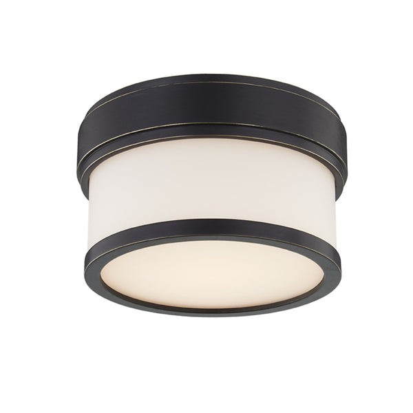 Hudson Valley Lighting 1420-OB Gemma Led Flush Mount in Old Bronze