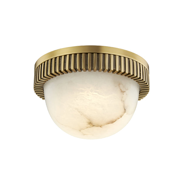 Hudson Valley Lighting 1430-AGB Ainsley Led Flush Mount in Aged Brass