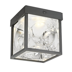 Hudson Valley Lighting 1450-OB Calvin Led Flush Mount in Old Bronze