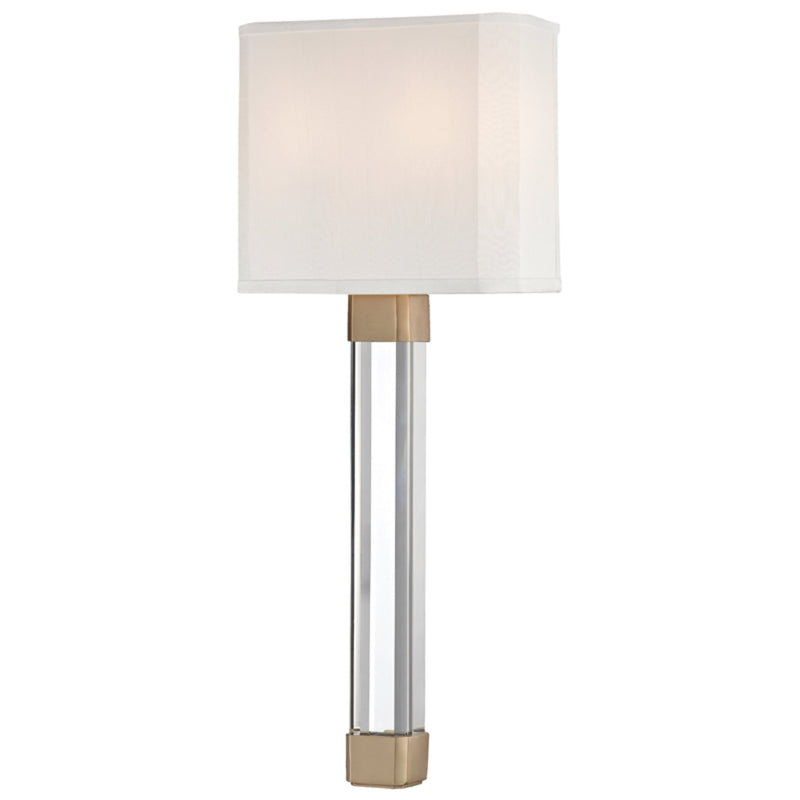 Hudson Valley Lighting 1461-AGB Larissa 2 Light Wall Sconce in Aged Brass
