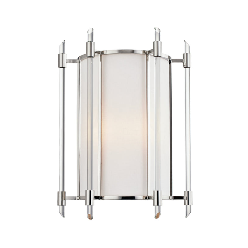 Hudson Valley Lighting 1502-PN Delancey 2 Light Wall Sconce in Polished Nickel