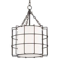Hudson Valley Lighting 1516-OB Sovereign 2 Light Pendant in Old Bronze