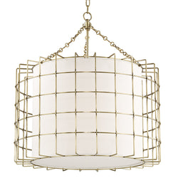 Hudson Valley Lighting 1531-AGB Sovereign 4 Light Pendant in Aged Brass