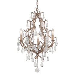 Corbett Lighting 163-03 Amadeus 3lt Chandelier in Hand-Worked Iron