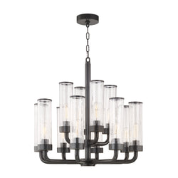 Hudson Valley Lighting 1726-OB Soriano 12 Light Chandelier in Old Bronze