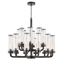 Hudson Valley Lighting 1732-OB Soriano 20 Light Chandelier in Old Bronze