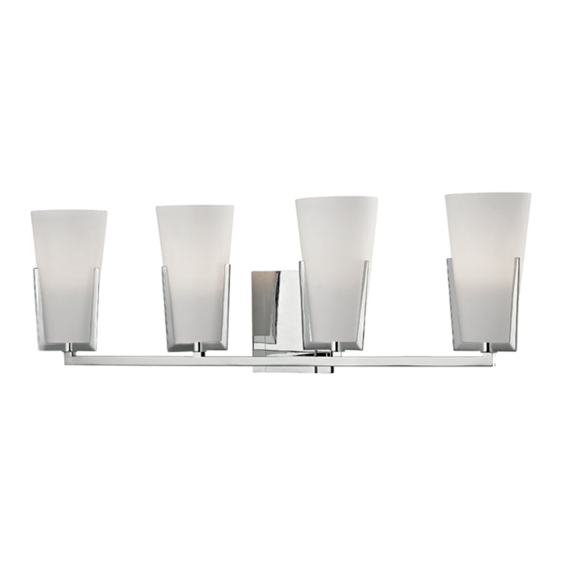 Hudson Valley Lighting 1804-PC Upton 4 Light Bath Bracket in Polished Chrome