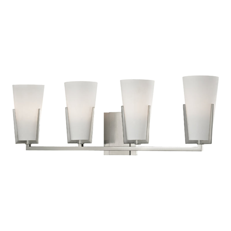 Hudson Valley Lighting 1804-SN Upton 4 Light Bath Bracket in Satin Nickel